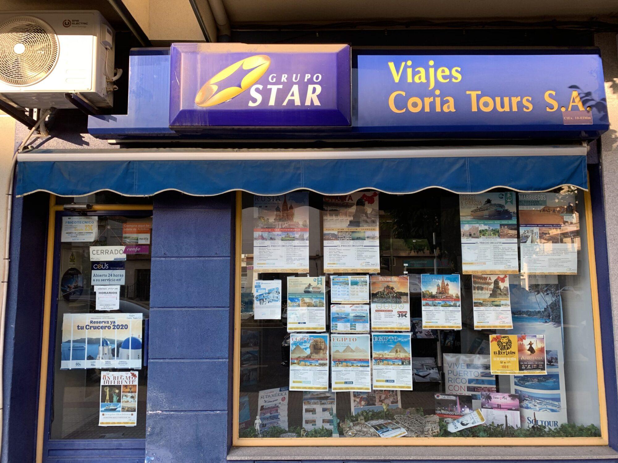 CORIA TOURS MORALEJA